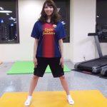 お腹と背中の脂肪を落とすスクワット【筋トレ動画】