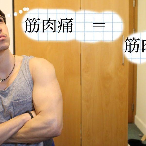 筋肉痛にならないと筋肉は付かない?筋肉を成長させるために必要な刺激とは【筋トレ動画】