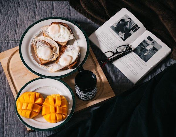 朝食-脂肪