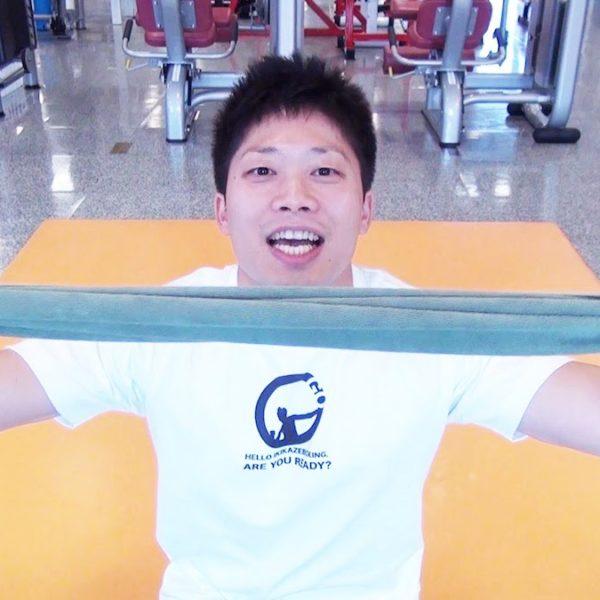 上腕三頭筋の種目トライセップスキックバックのやり方を解説【筋トレ動画】