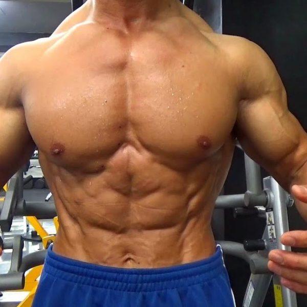 腹直筋全体を意識した腹筋のトレーニング!外腹斜筋のマッスルコントロール【筋トレ動画】