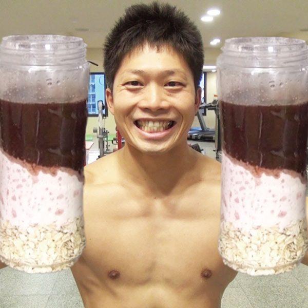 お腹を壊しやすい痩せ型男性が筋肉をつけながら体重を増やす為の朝食【筋トレ動画】