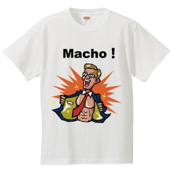 マッチョ_Tシャツ_ワイルド
