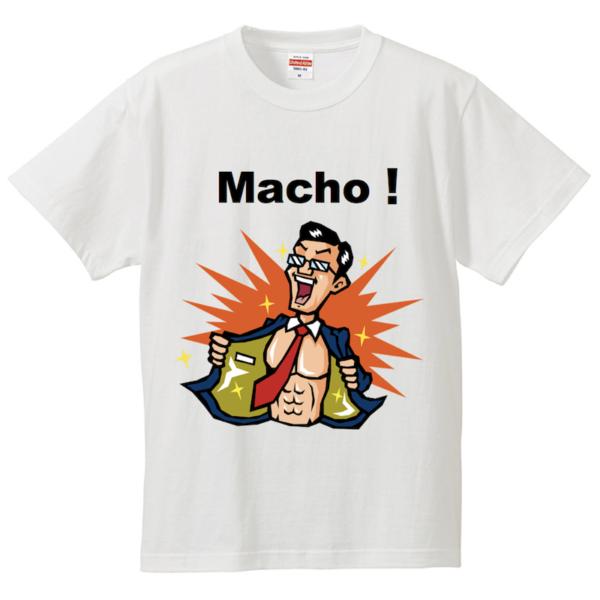 マッチョ!Tシャツ(ビジネスマン風)の販売を開始しました!【Macho!ニュース】
