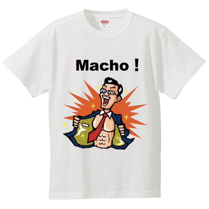 マッチョ_Tシャツ_ビジネスマン