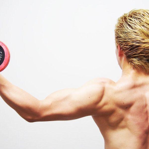 腕の脂肪を削ぎ落とす!上腕二頭筋と上腕三頭筋のダンベル筋トレ!【筋トレ動画】