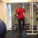 マラソントレーニング!室内で出来るもも上げ!【トレーニング動画】