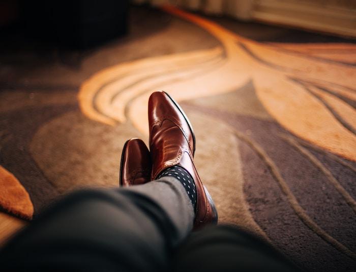 スーツ-靴下