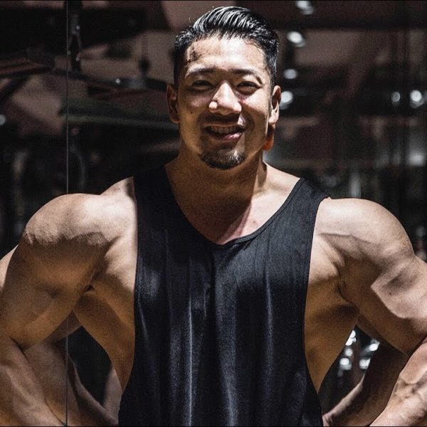 日本人Physiqueバルク最大級!IFBBプロ竹本さんと肩トレーニング!