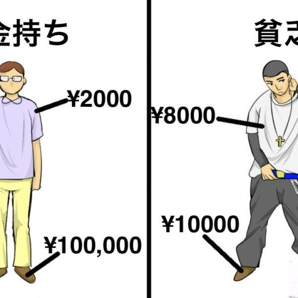 【衝撃】金持ちと貧乏人の行動の違い6選