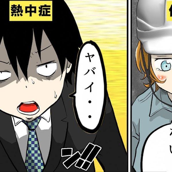 【漫画】熱中症になるとどうなるのか?【マンガ動画】