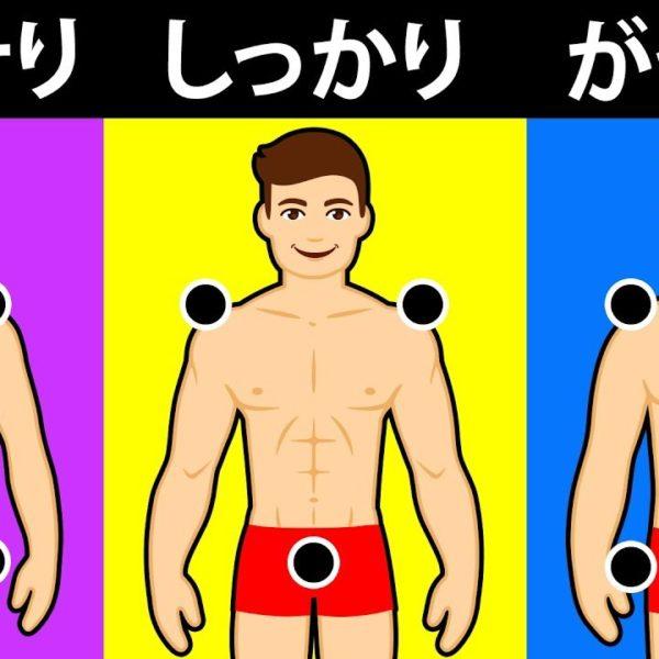あなたの本来の体型を暴けるテスト