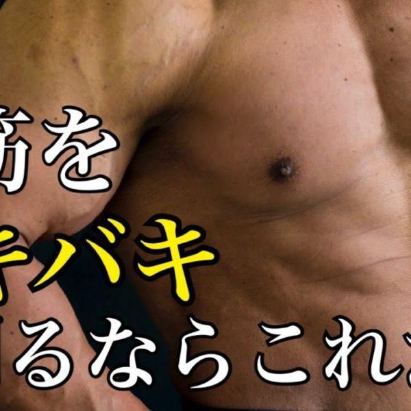 【筋トレ】ケーブルを使って腹筋をバキバキに割る方法