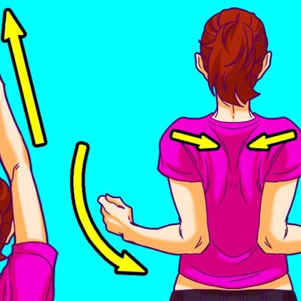 首の痛みを忠地に取り除く5分間トレーニング