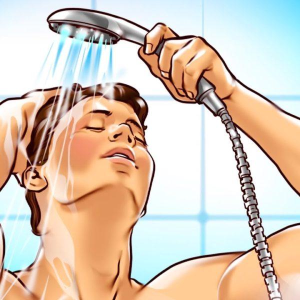 毎朝の習慣にしよう!意外と知られていない冷水シャワーの効果!