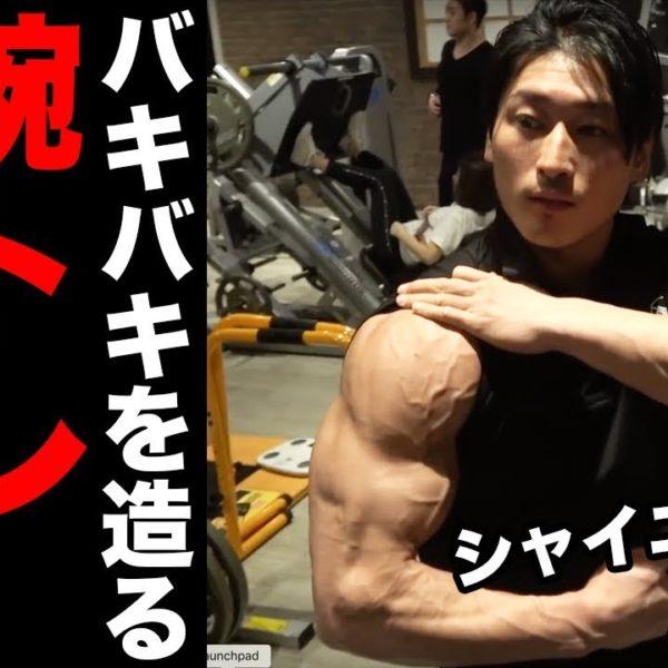 【バケモノ腕】シャイニー薊式バキバキに仕上げる腕トレの極意!