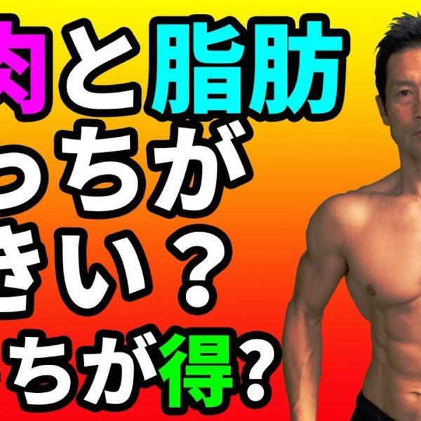 筋肉と体脂肪どっちが大きい?どっちが得?脂肪の大きさ、筋肉の大きさ