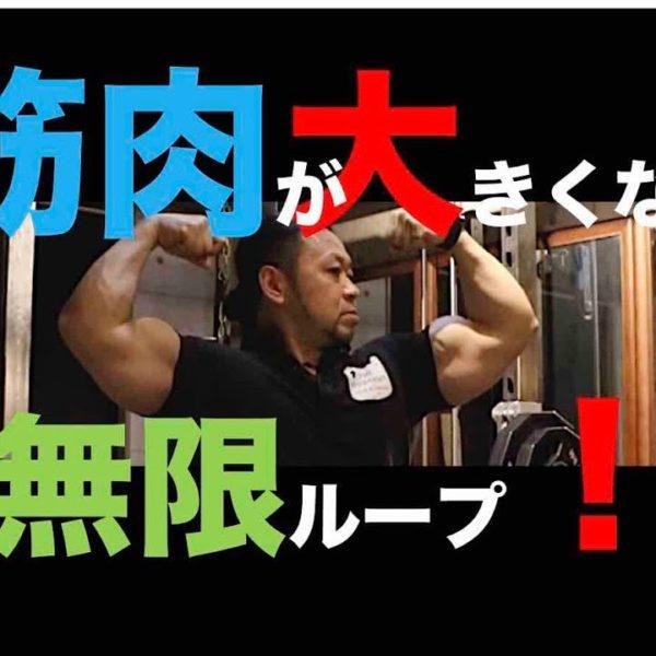 筋肉を大きくする無限ループ