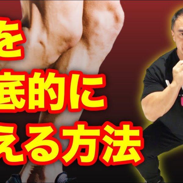 【筋トレ】脚を徹底的に鍛えたいという方にお勧めのトレーニング