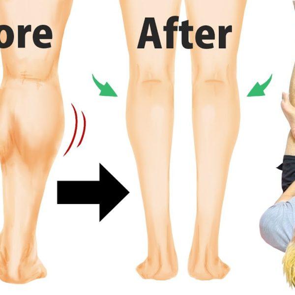【1日1回】10年悩んだ筋肉ししゃも足がスラッとキレイに痩せた!