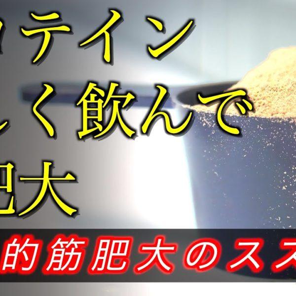 【筋トレ川柳】プロテイン・正しく飲んで・筋肥大