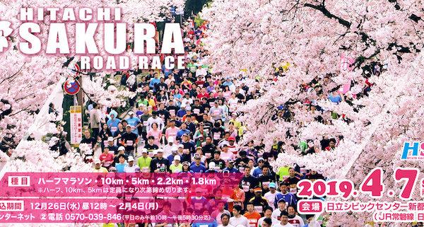日立さくらロードレース2019【マラソン大会情報】