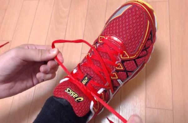 ランニングシューズの正しい履き方 紐の結び方【筋トレ動画】